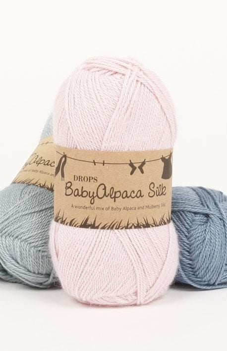 Drops - Baby alpaca silk