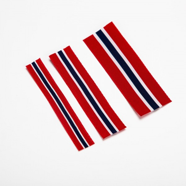 Norge flagg - 12, 16 & 25 mm
