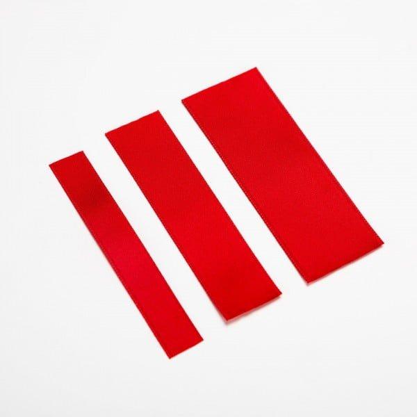 Rød - 10, 16 & 25 mm