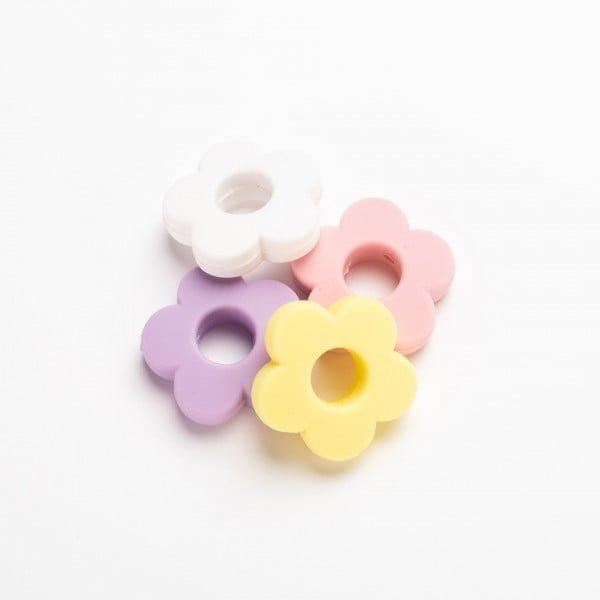 Silikon - Blomst 28mm