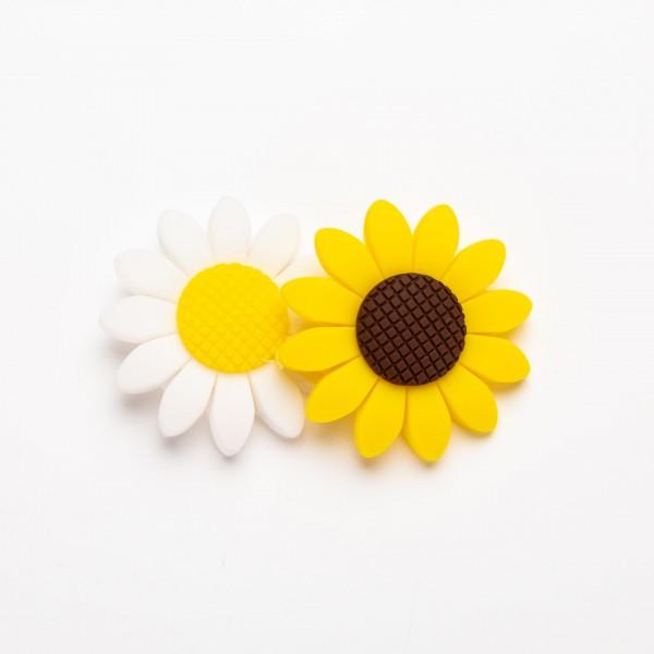 Silikon - Blomst 40mm
