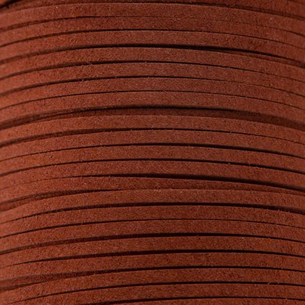 Tråd – Nylon 3mm – 1meter, mørk brun