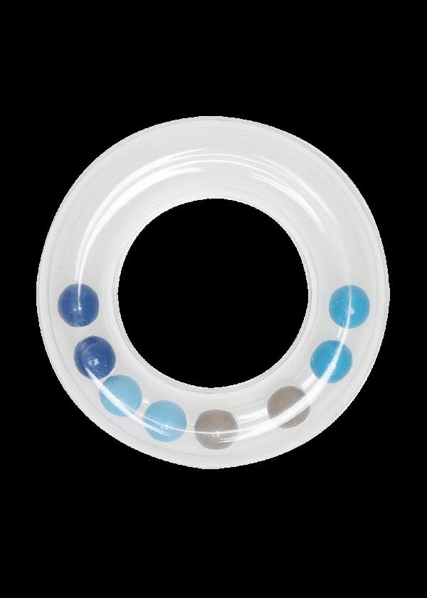 Rangle ring - Blå, 63mm