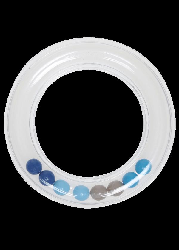 Rangle ring - Blå, 80mm