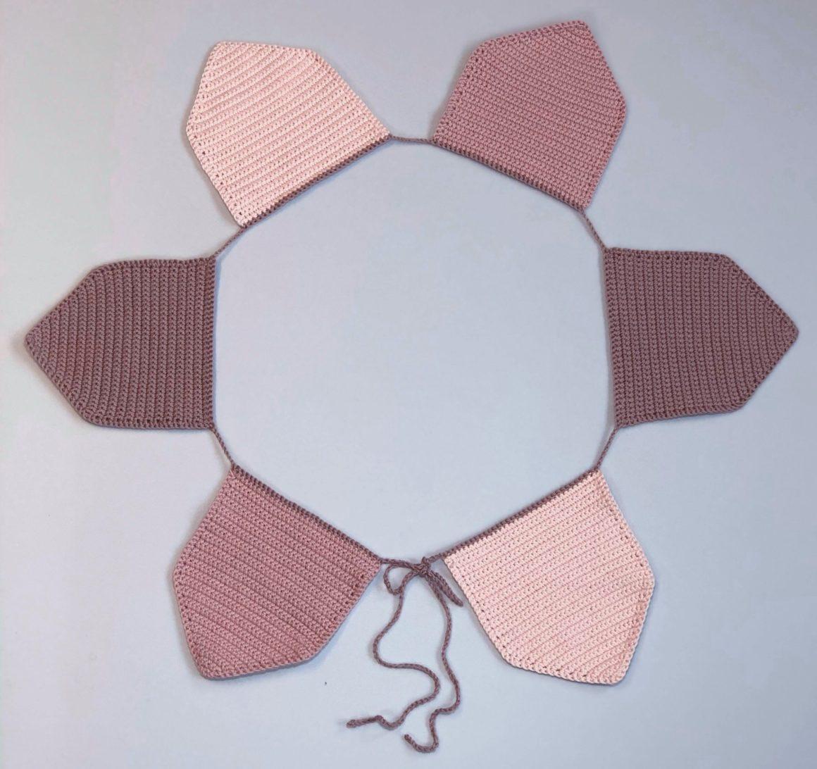 Vimpelrekke – hekleoppskrift