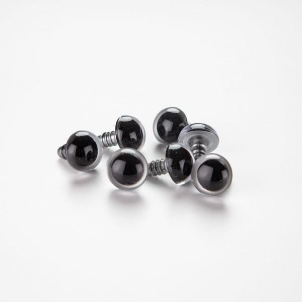 Sikkerhetsøyne – 6-16mm, sølv