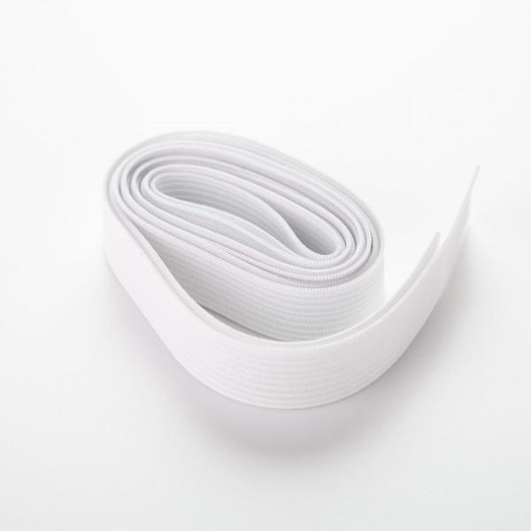Elastisk bånd - 15mm - Hvit 1,5meter