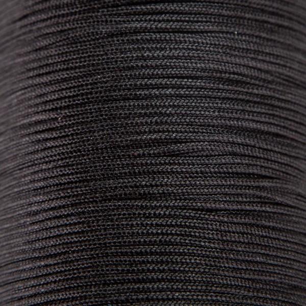Tråd – Polyester 1,5mm – 1meter, sort