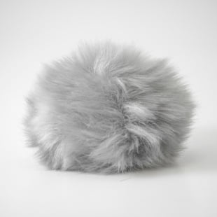 Pompon - 10,5cm grå