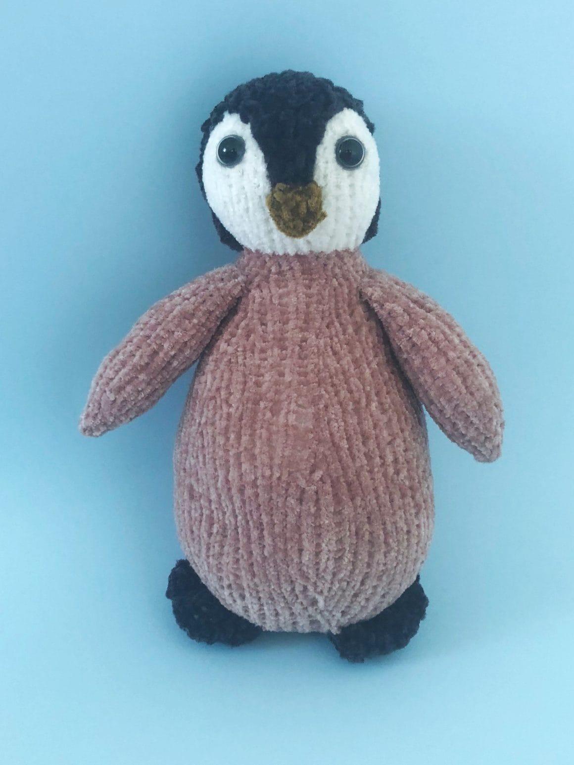 Pingvin – strikkeoppskrift