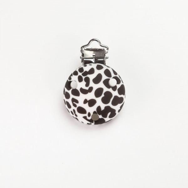 Silikonclips - Rund, Dalmatiner