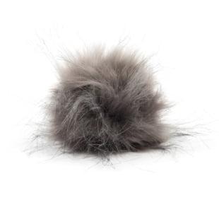 Pompon - 11cm brungrå