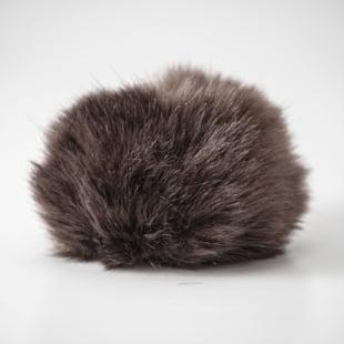 Pompon - 10,5cm brun