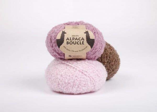 Drops - Alpaca Bouclé