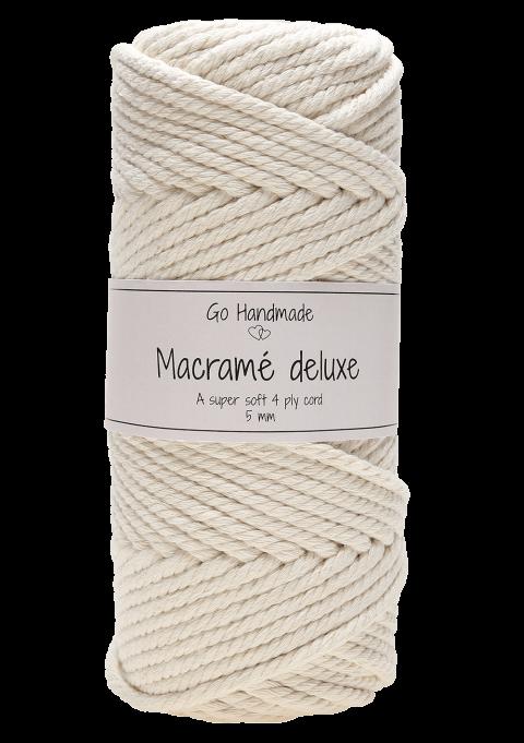 Go Handmade - Macramé Deluxe 3, 4, & 5 mm