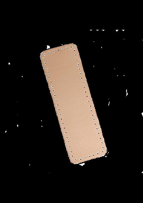 Rektangel bunn - Beige, 31x10cm