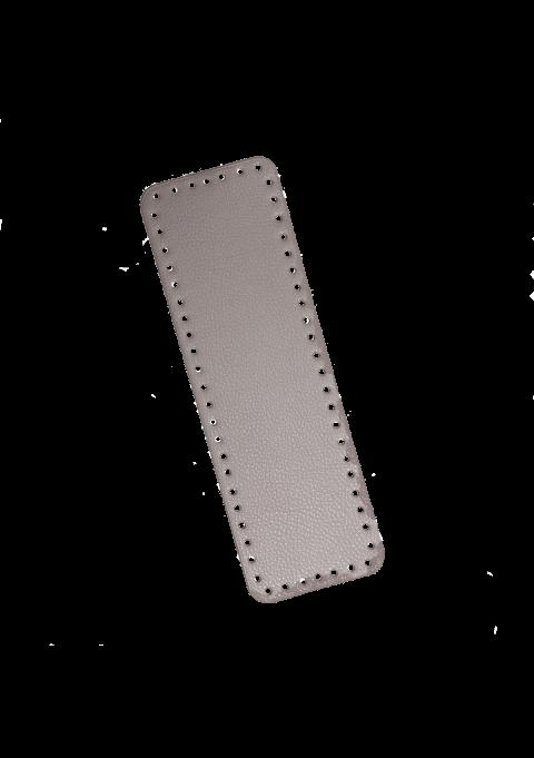 Rektangel bunn - Muldvarp, 31x10cm