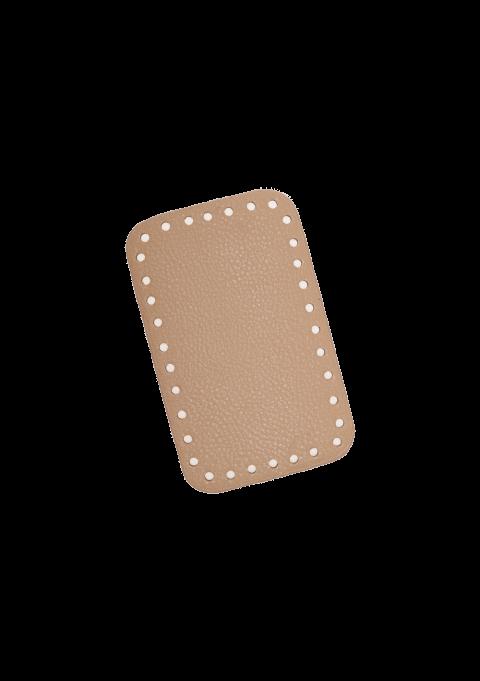 Rektangel bunn - Beige, 16x10cm