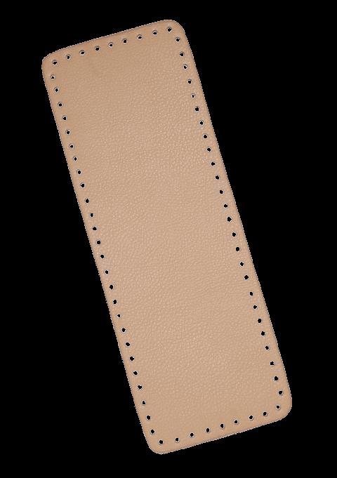 Rektangel bunn - Beige, 36x13cm