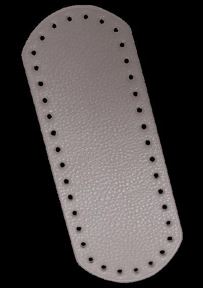 Rektangel bunn - Muldvarp, 21x8cm