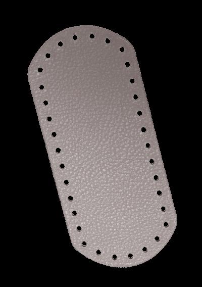 Rektangel bunn - Muldvarp, 18,5x8cm