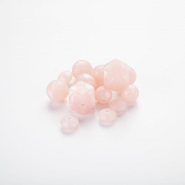 Silikon metall – Lys rosa