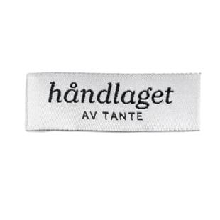 Håndlaget av tante - 1 stk