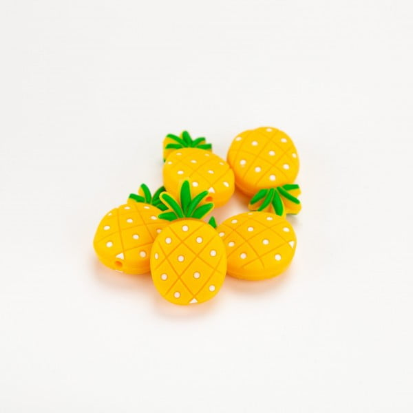 Silikon - Ananas 32x19mm