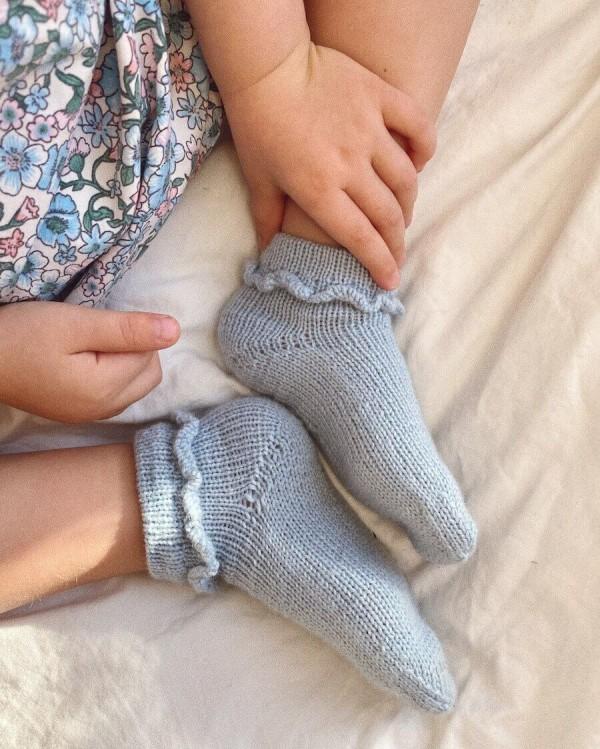 Ruffle Socks junior - papirutgave