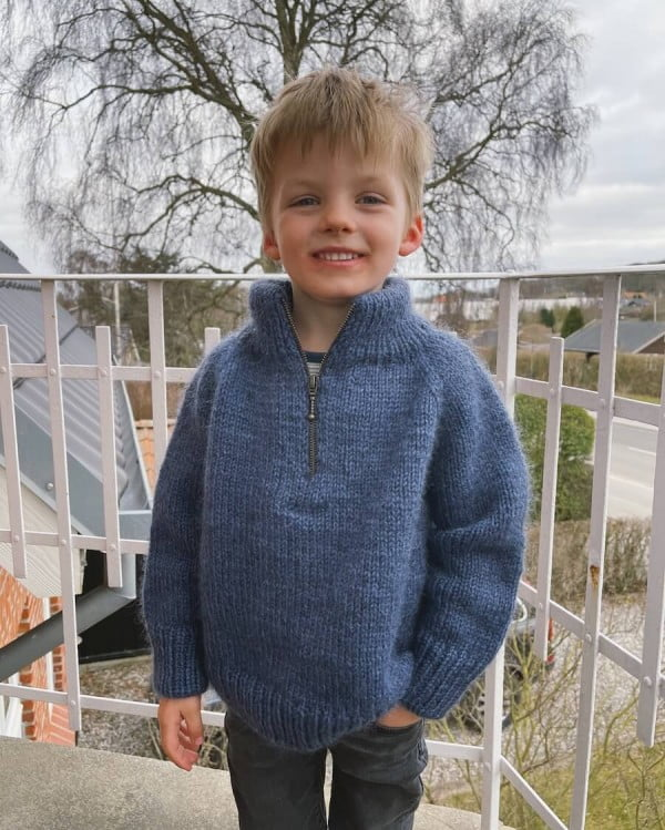 Zipper Sweater Junior - papirutgave