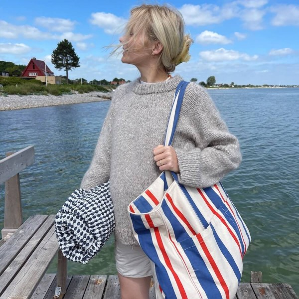 All You Need Bag - Striped Canvas