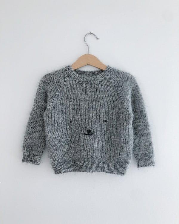 Bamsesweater - papirutgave