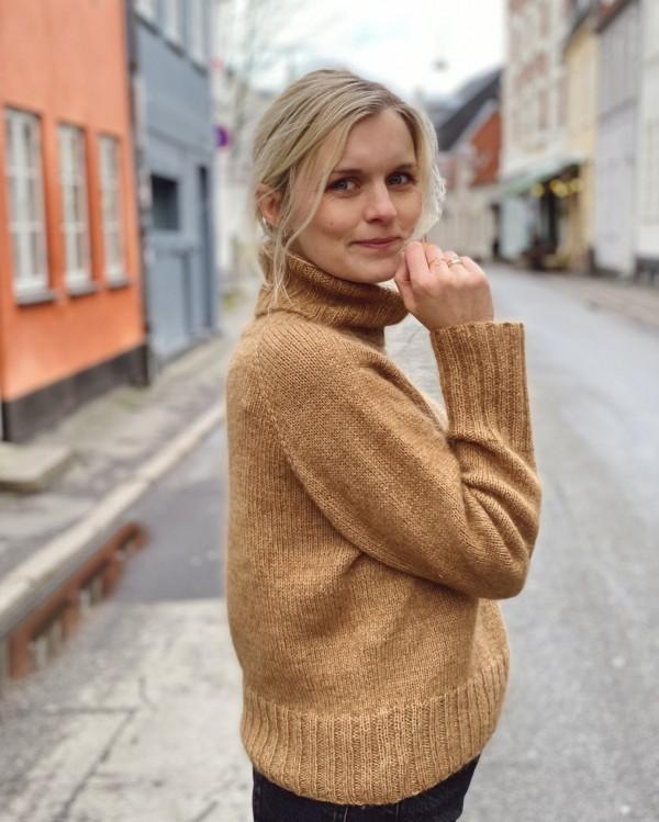 Caramel sweater - papirutgave