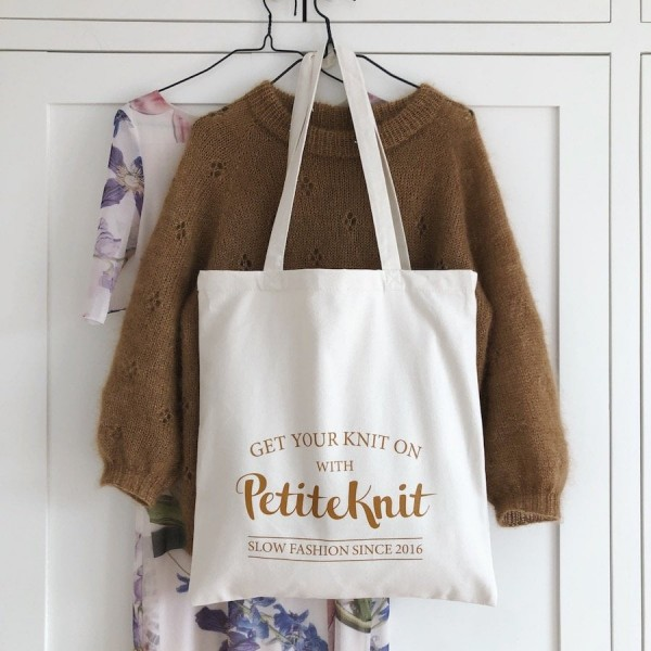 Get your knit on - tote bag