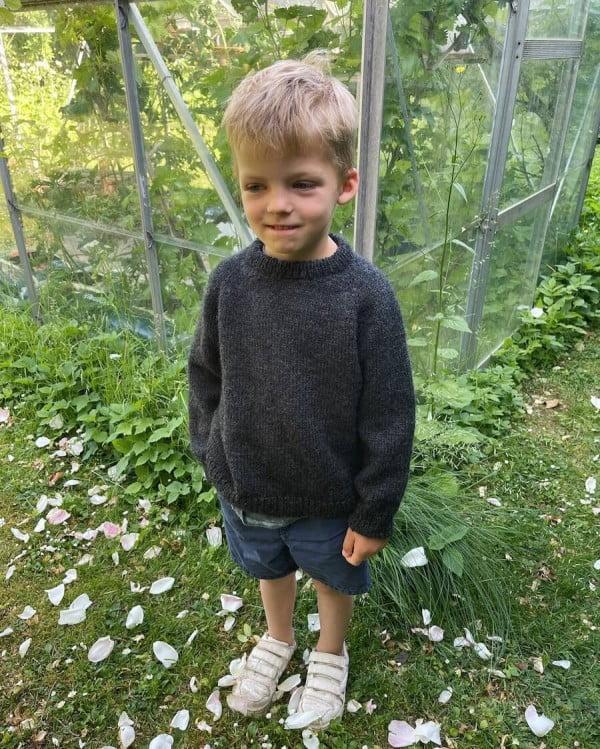 Hanstholm Sweater Junior - papirutgave