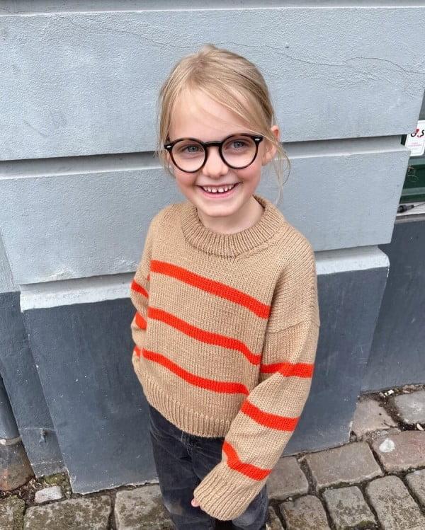 Marseille Sweater Junior - papirutgave