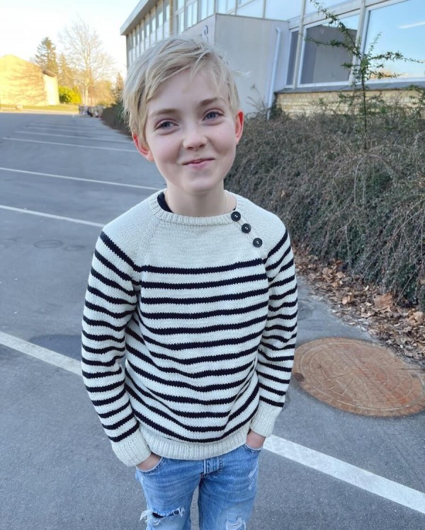 Seaside Sweater Junior - papirutgave