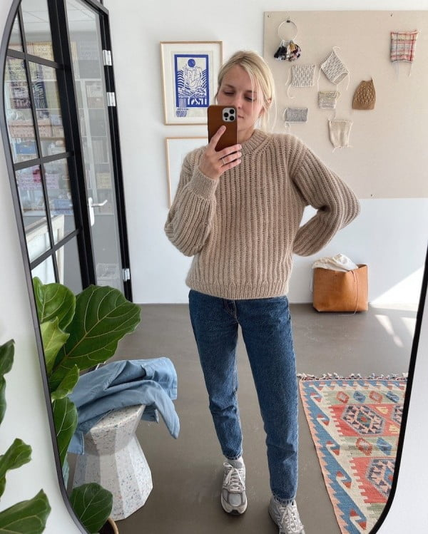 September sweater - papirutgave