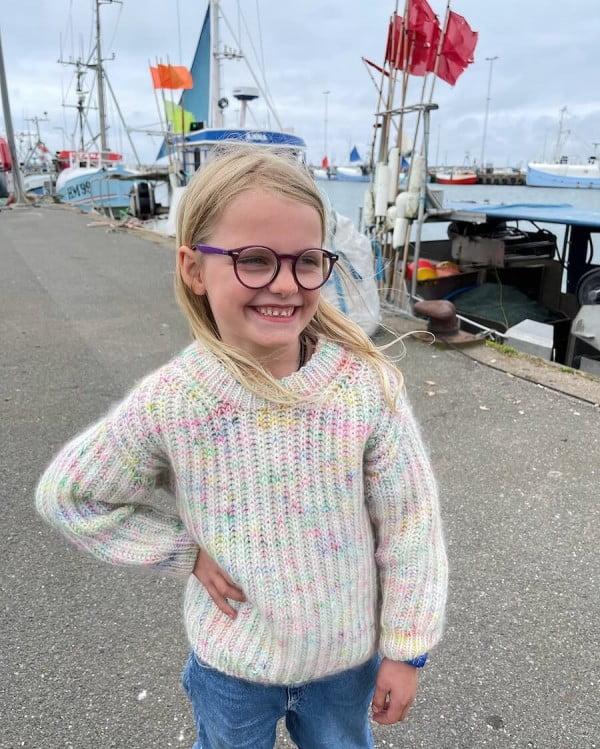 September Sweater Junior - papirutgave