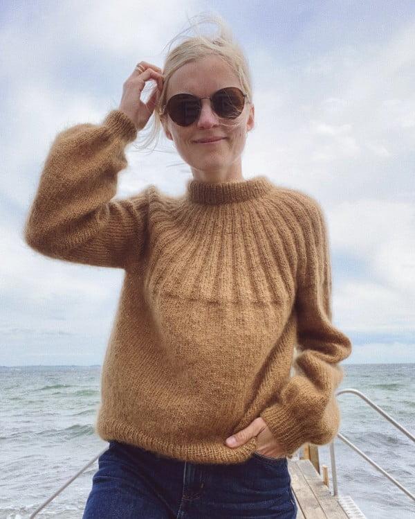 Sunday sweater - mohair edition - papirutgave