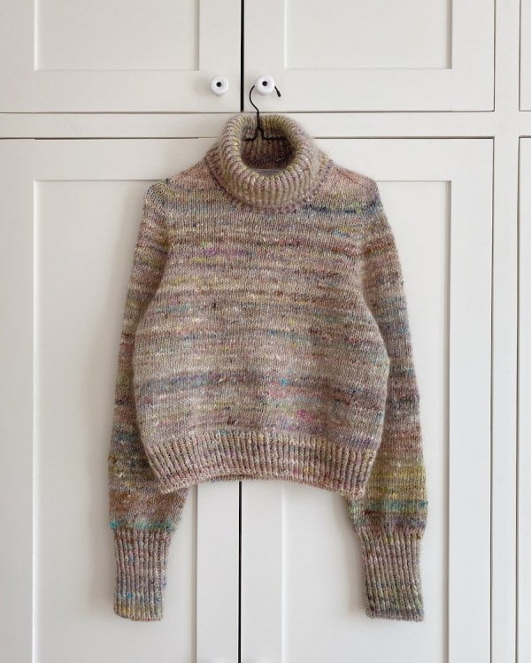 Terrazzo sweater - papirutgave