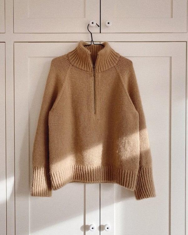 Zipper sweater - papirutgave