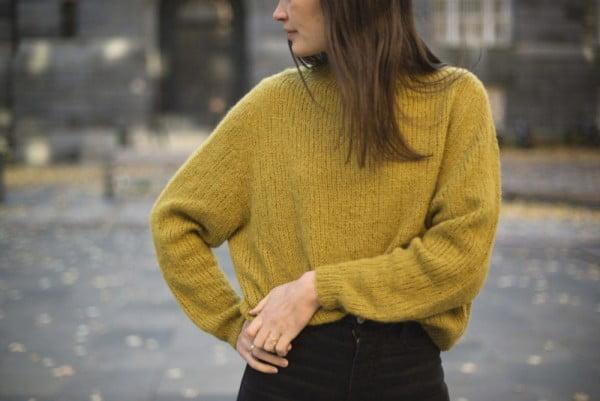 Collett Sweater light - papirutgave