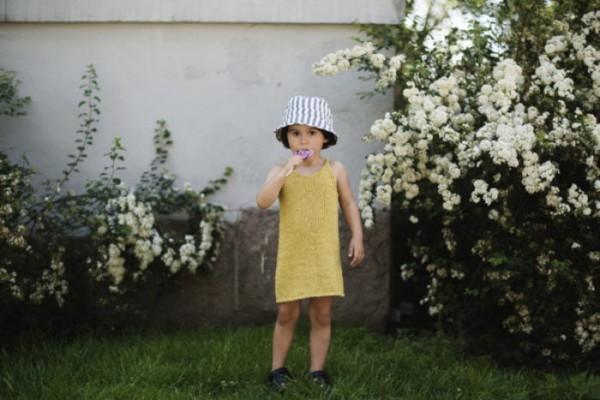 Nordisk sommerkjole barn  - papirutgave