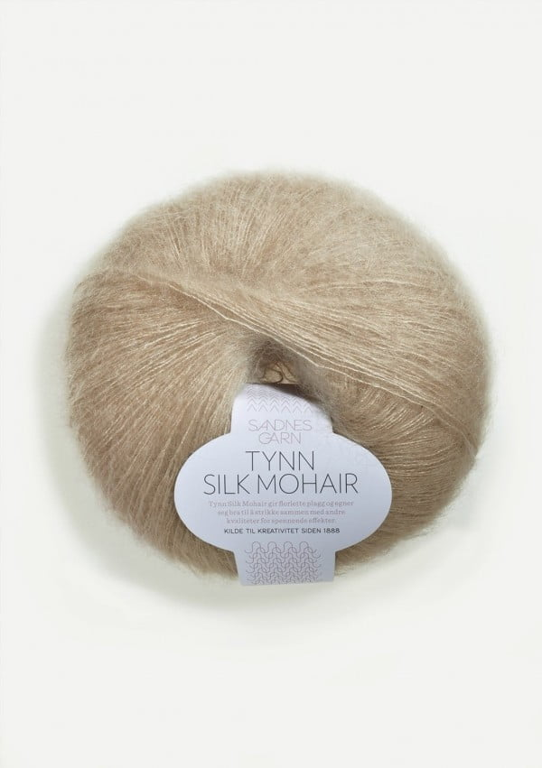 Sandnes - Tynn silk mohair