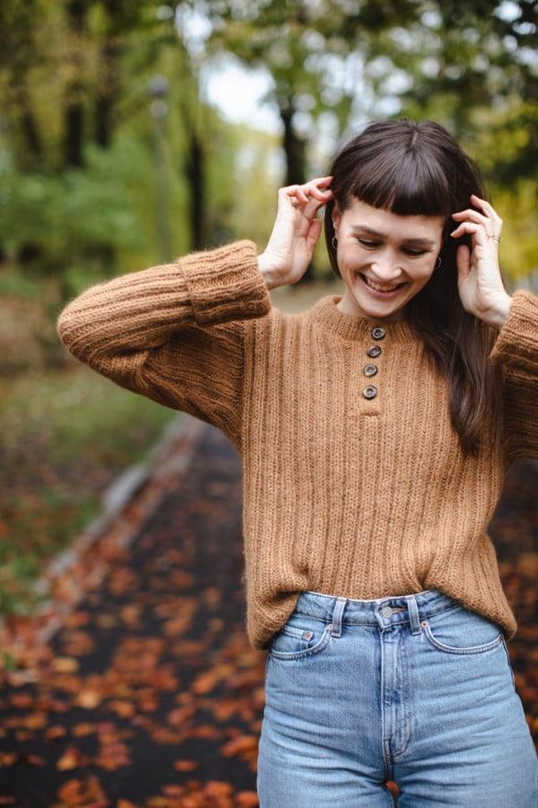 Bernie sweater - papirutgave